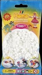Hama Bugelperlen Midi Transparent Weiss 1000 Perlen 207 19 A012