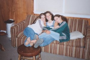 Ivy (Sterling) Lasley, Kelly Fallows and Cheryl Turk