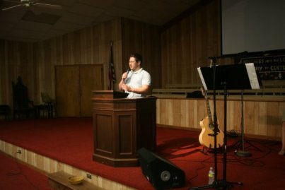 Camp missionary Scott Rambo talks about the work he and his wife Meg will be doing in Uganda.