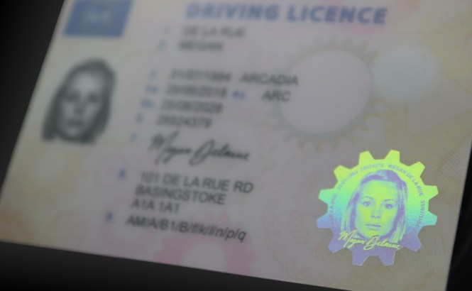 ID card - Feature only - Reflection 3