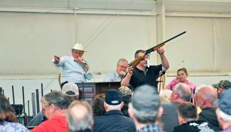 Dave Wilson auctioning guns