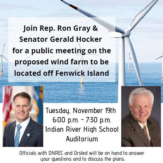 wind farm, orsted, skip jack farm, fenwick island,