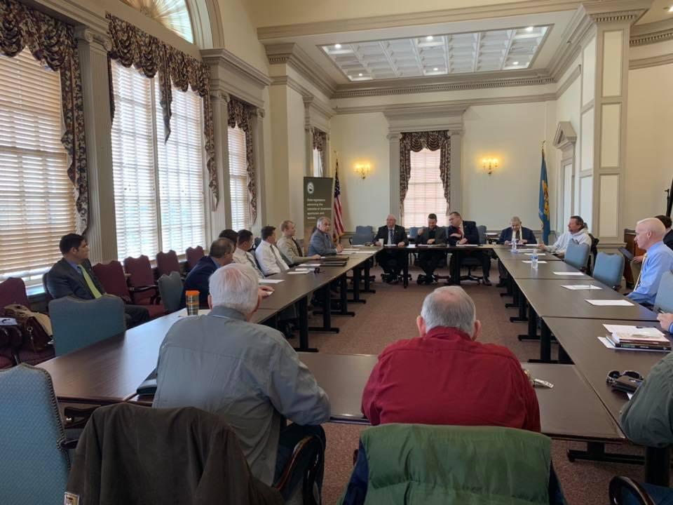 Delaware sportsmens caucus, dover, legislative hall, pettyjohn, carson, ennis, spiegelmen, national assembly of sportsmen