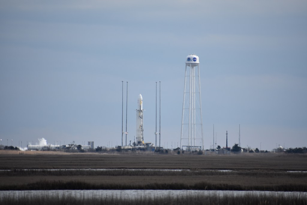 antares, cygnus, northrop grunman, wallops flight facility, nasa, rocket launch, media access, launch vehicle, iss, international space station, resupply mission