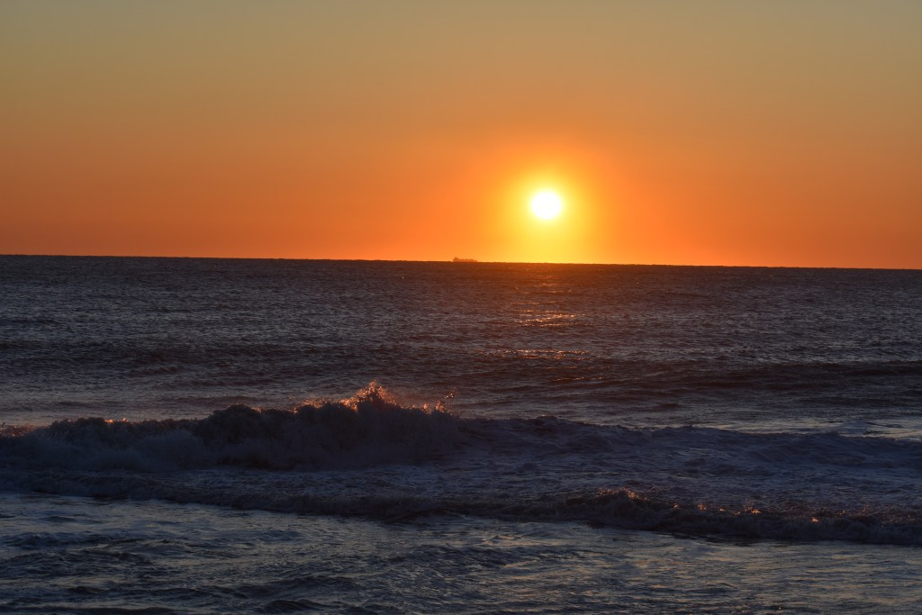 Faithful steward crossing, delaware seashore state park, surf fishing, covid19 , coronavirus, sussex county, sunrise at the beach