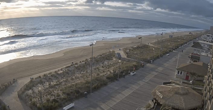 rehoboth beach, delaware, sussex county, tidal flood advisory, high surf advisory, delaware surf fishing