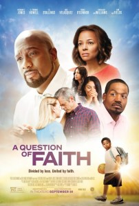 A Question of Faith movie poster, rated PG