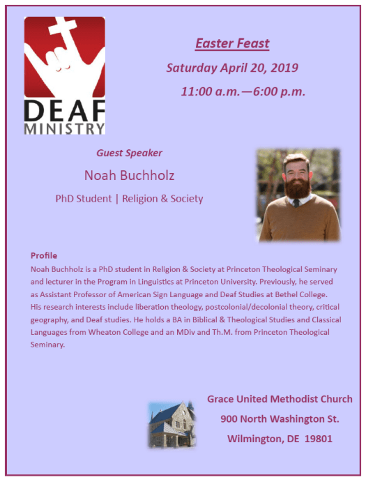 Easter Feast Saturday April 20, 2019 11:00 a.m.—6:00 p.m.