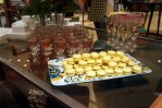 Macarons and Drinks at Anthropologie