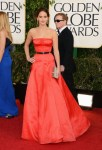 Red Ruled the Golden Globes in 2013 (And Other Wardrobe Tidbits)