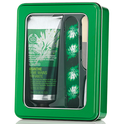 absinthe-manicure-gift-set, Body Shop, The Body Shop, metrosexual, Holiday Gift Guide 2013, Holiday Gifts 2013, Holiday 2013