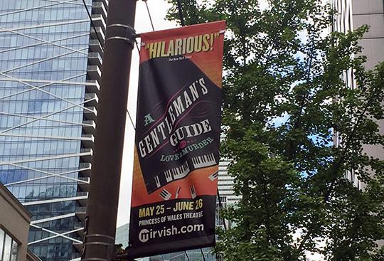 Gentlemans Guide, A Gentleman's Guide, theatre, Mirvish, Toronto