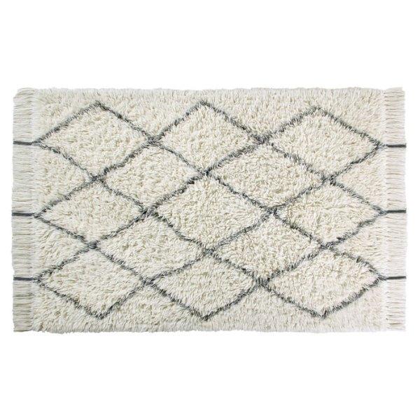 Alfombra de lana lavable Woolable Berber de Lorena Canals tamaño M