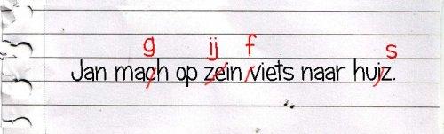spellingsfouten