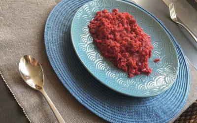 Heerlijke en simpele rode bietenrisotto