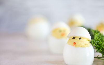 3 leuke recepten met ei om te maken tijdens de paasdagen