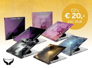 Set van 5 meditatie cd's