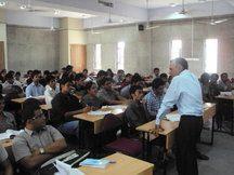 Prof Madan of DLA teaching at GNLU Gujarat