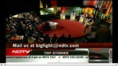 Delhi Law Academy students at NDTV Big Fight Debate