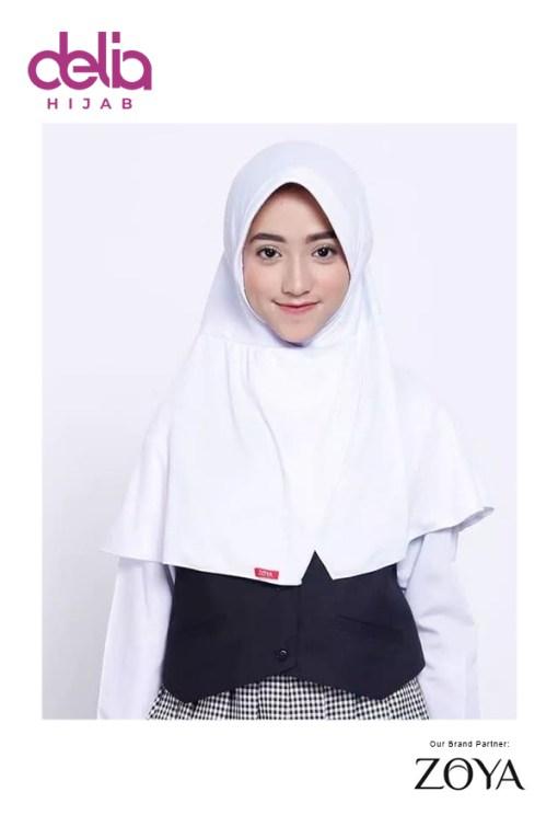 Bergo Sekolah Zoya - Bergo Cerdas - Delia Hijab