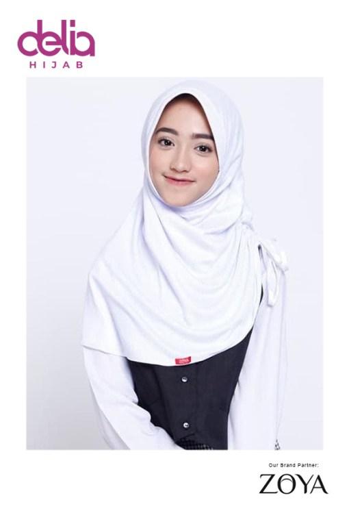 Bergo Sekolah Zoya - Bergo Cermat - Delia Hijab