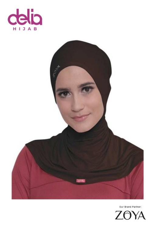 Ciput Zoya - Ciput Rising Star - Delia Hijab - Brown