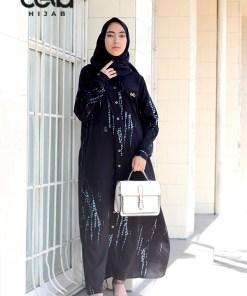Gamis Tie Dye - Tie Dye Dress Opnaisel - Delia Hijab Daily Wear