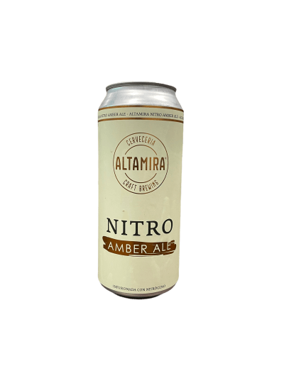 Cerveza Artesanal ALtamira Amber Ale Nitro