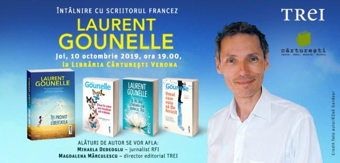 Întâlnire cu scriitorul francez Laurent Gounelle