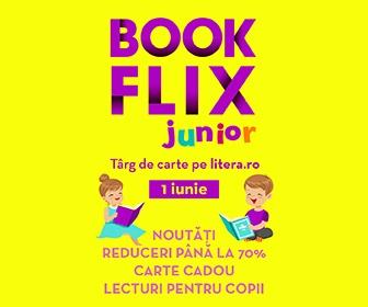 Bookflix Junior pe litera.ro (pe 1 iunie)