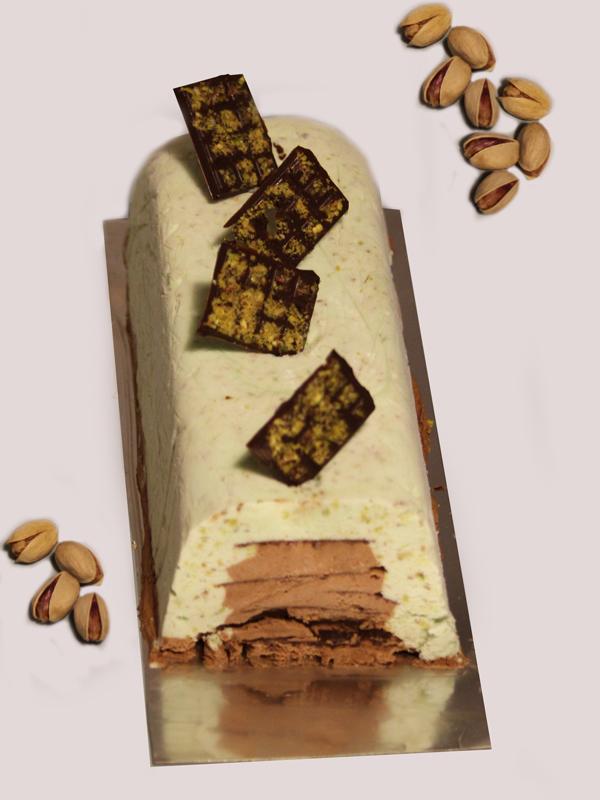buche-glacée-pistache-choco-tonka