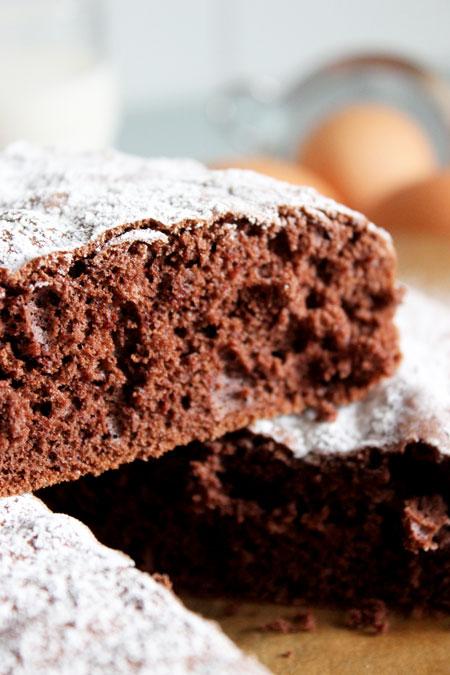 genoise-chocolat