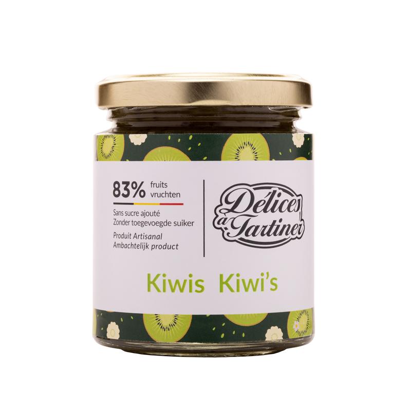 Confiture de Kiwis Délices à Tartiner