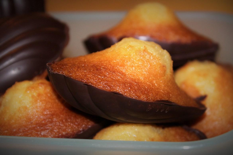 Madeleines Coque Chocolat