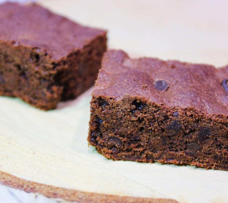 Délicimô ! - Recette du Brownie Chocolat Pépites - www.delicimo.fr