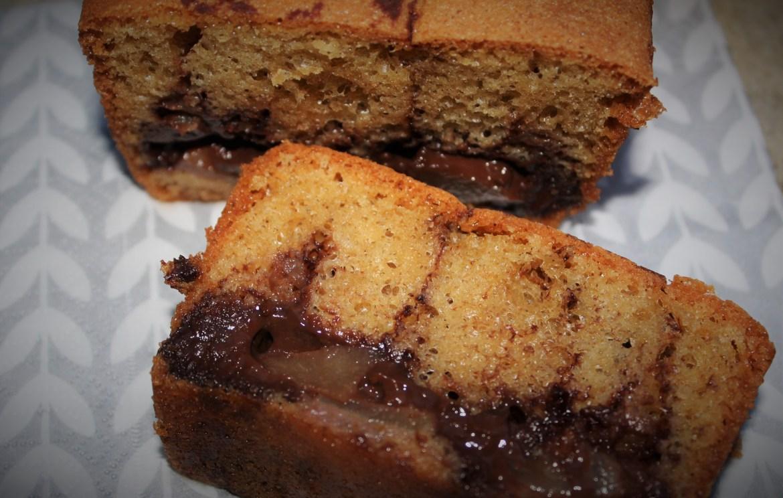 Cake aux Poires et Chocolat