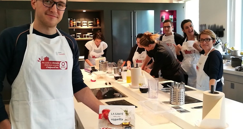 Atelier Culinaire Harmonie Mutuelle - Délicimô ! - www.delicimo.fr