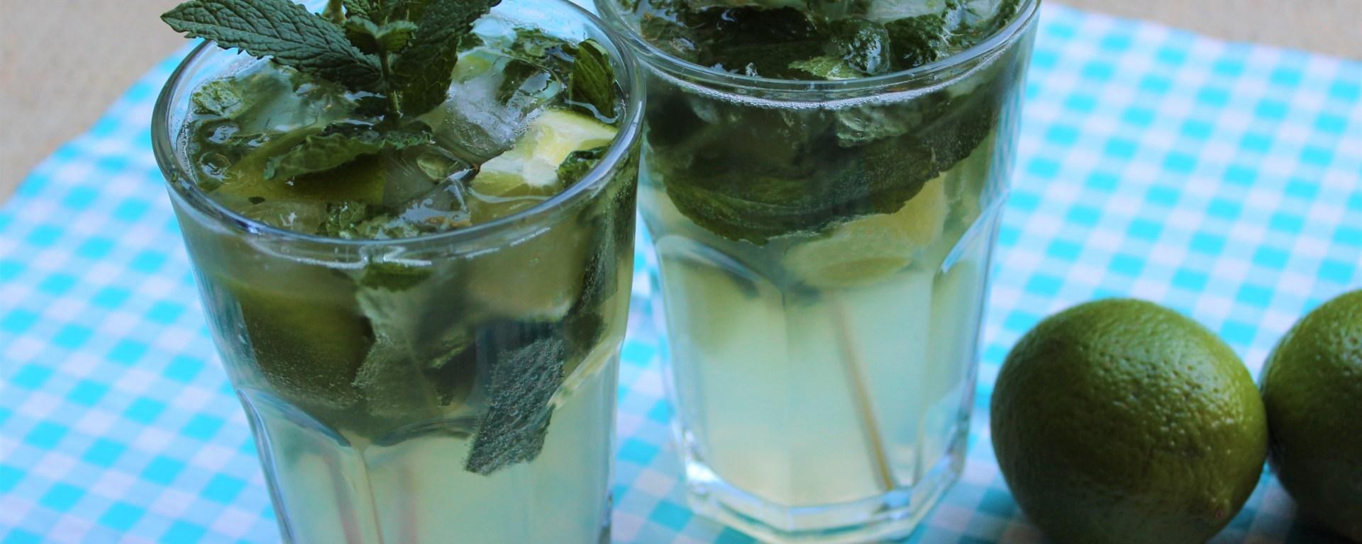 Délicimô ! - Recette Cocktail Mojito Cubain : Citron, Menthe Fraîche, Rhum - www.delicimo.fr