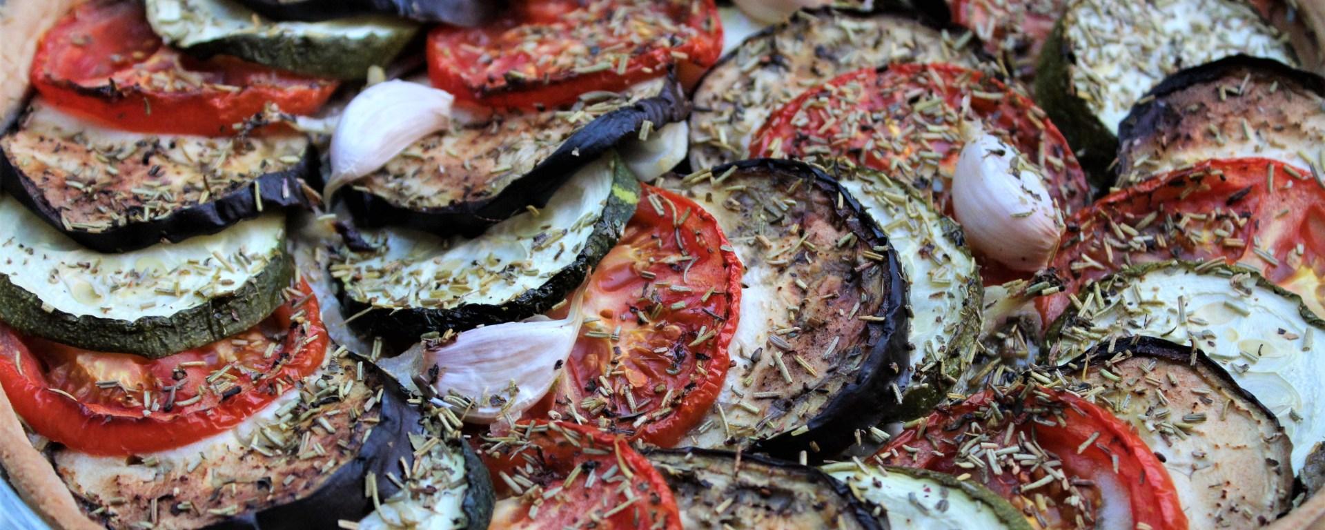 Délicimô ! - Recette Tarte à l'Anchoyade façon Tian de Légumes - www.delicimo.fr