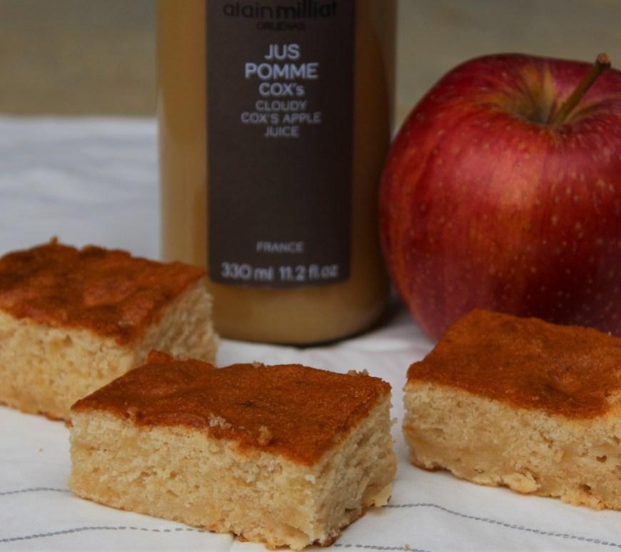 Délicimô ! - Recette Gâteau léger et moelleux au jus de pomme - www.delicimo.fr