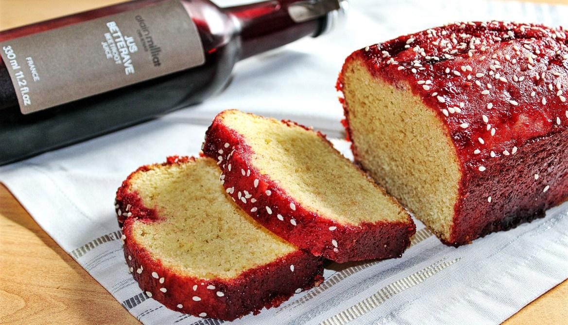 Cake à la Betterave et à la Fraise