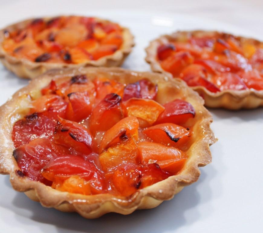 Délicimô ! - Recette Tarte Tartelettes d'Eté aux Abricots - www.delicimo.fr