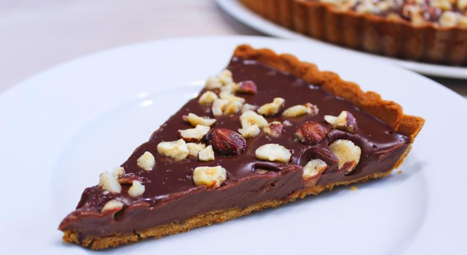 Délicimô ! - Recette de la Traditionnelle Tarte au Chocolat et Noisette - www.delicimo.fr