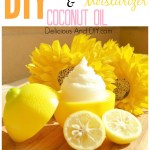 Lemon And Organic Coconut Oil Face Moisturizer