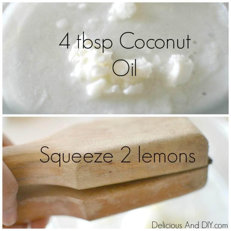 Lemon Coconut Oil Moisturizer| Organic Coconut Oil Lotion | DIY Home Made Lotion| DIY Moisturizer | Coconut Oil Moisturizer