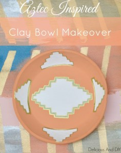 clay bow makeover