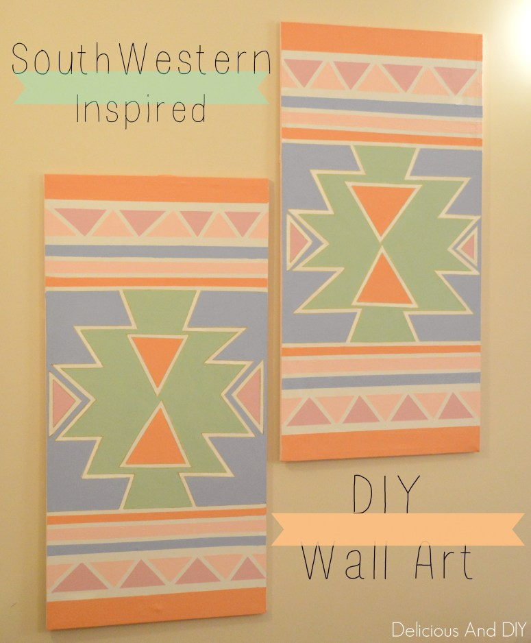 DIY Wall Art-Delicious And DIY