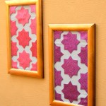 DIY Moroccan Wall Art
