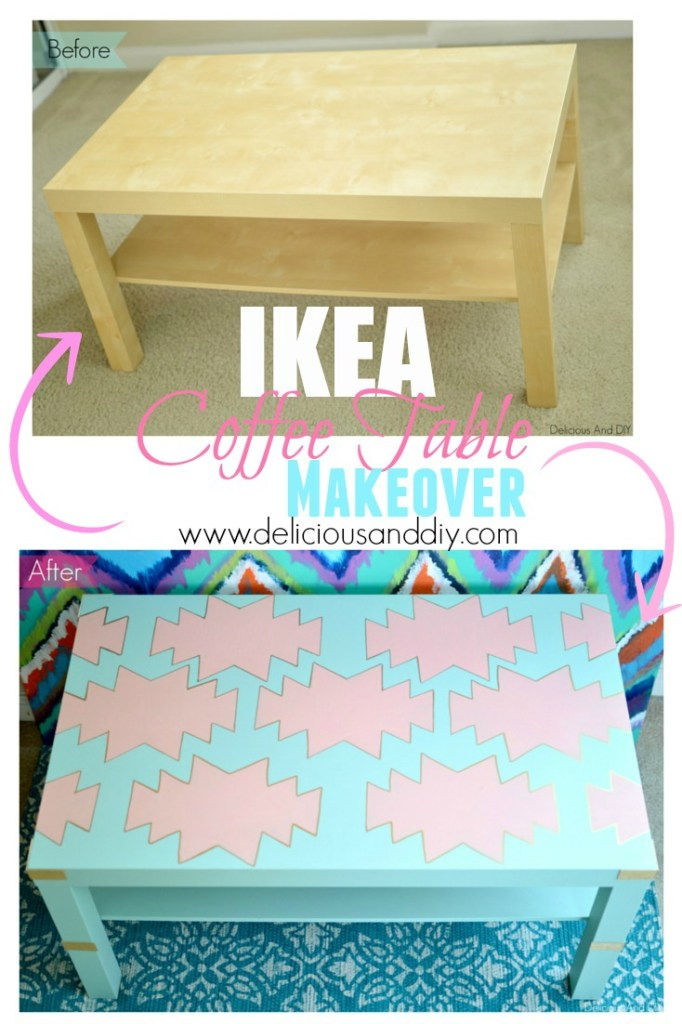 Ikea Coffee Table Makeover - Delicious And DIY