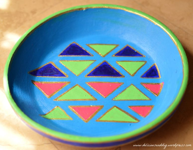 Geometric Bowl Makeover